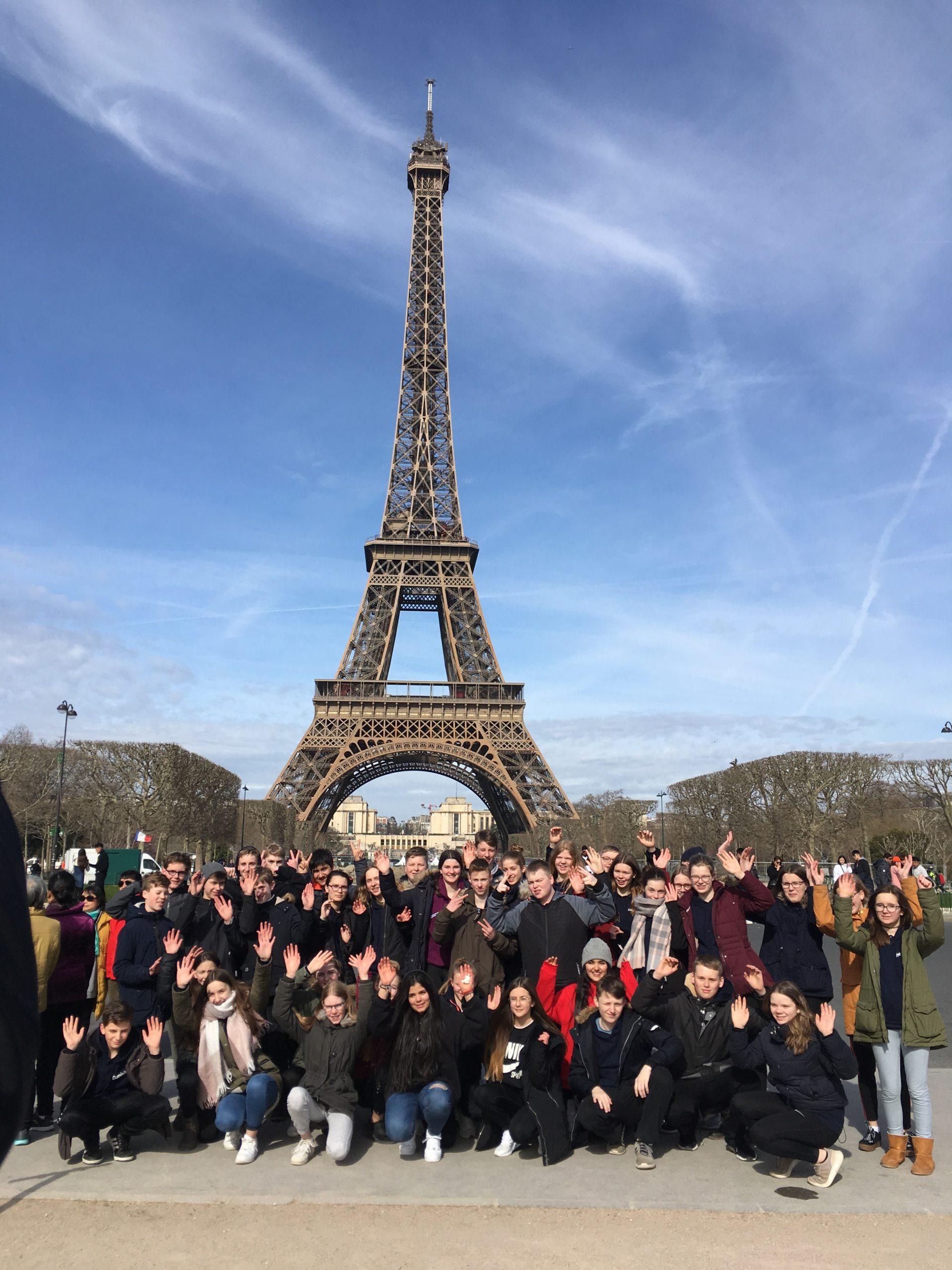 Deutsch-französischer Schüleraustausch mit dem Collège Notre Dame in St. Méen-le-Grand