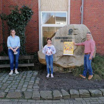 Siegerin des Vorlesewettbewerbs im Südkreis Vechta